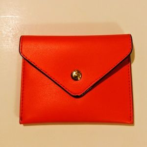 Bright Red Card Holder